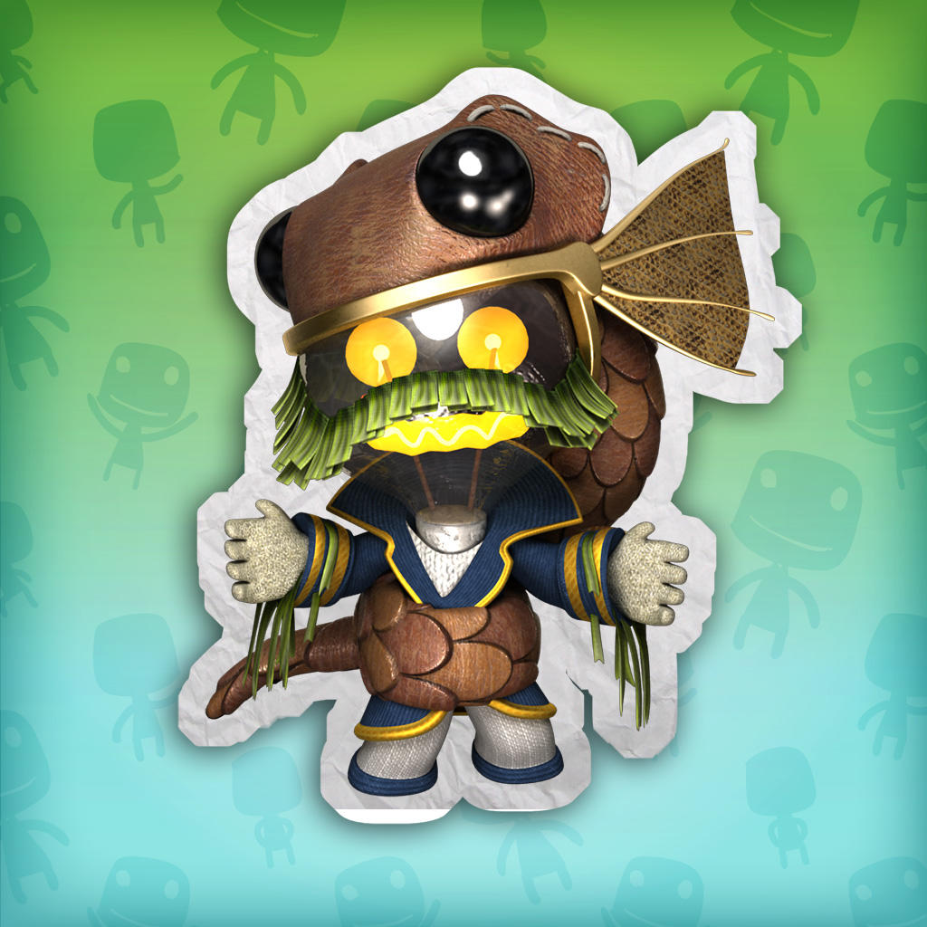 LittleBigPlanet™3 Captain Pud Avatar