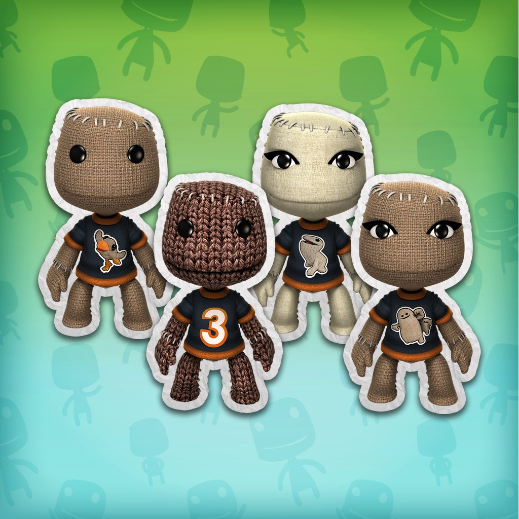 LBP™ 3 Characters T-Shirt Costume Pack