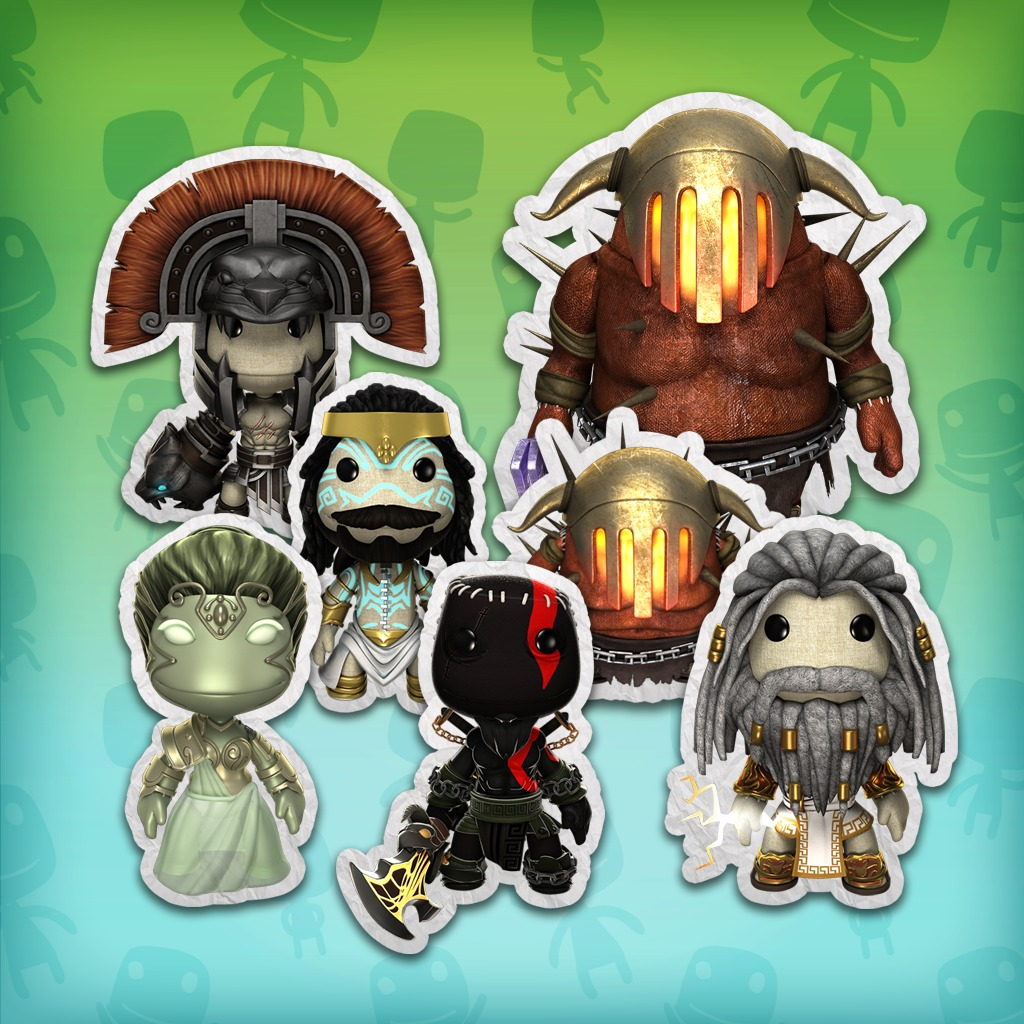 LittleBigPlanet™ 3 God of War® III Costume Pack
