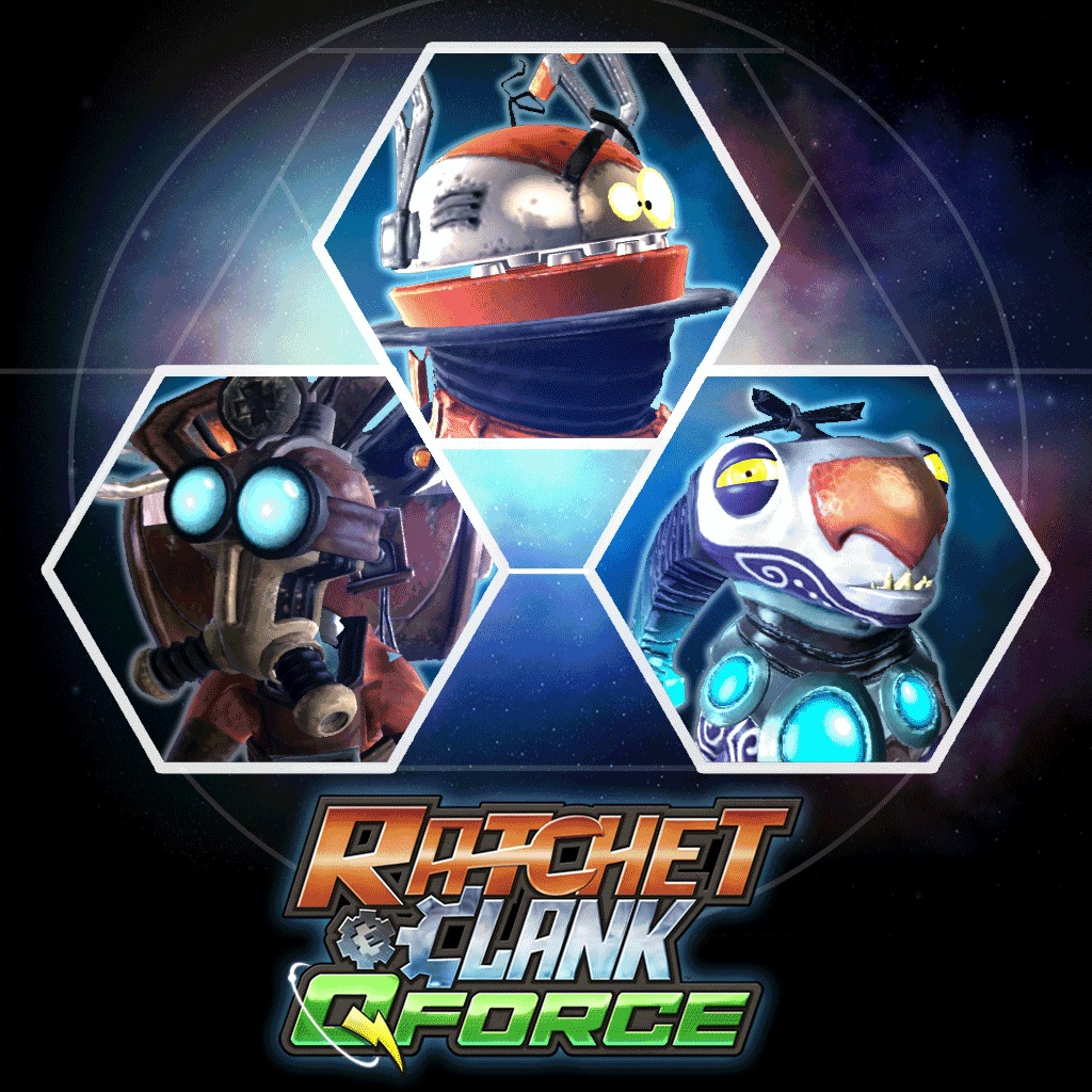 Ratchet & Clank™: QForce A Crack in Time Pack