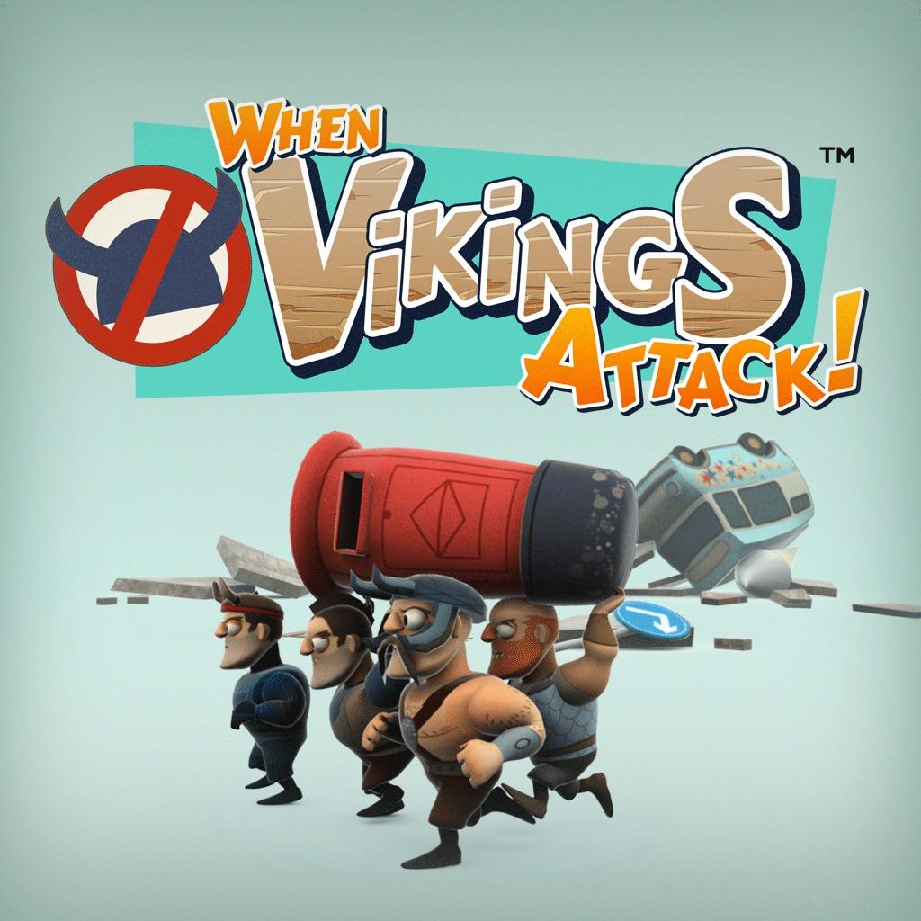 When Vikings Attack™ Dynamic Theme