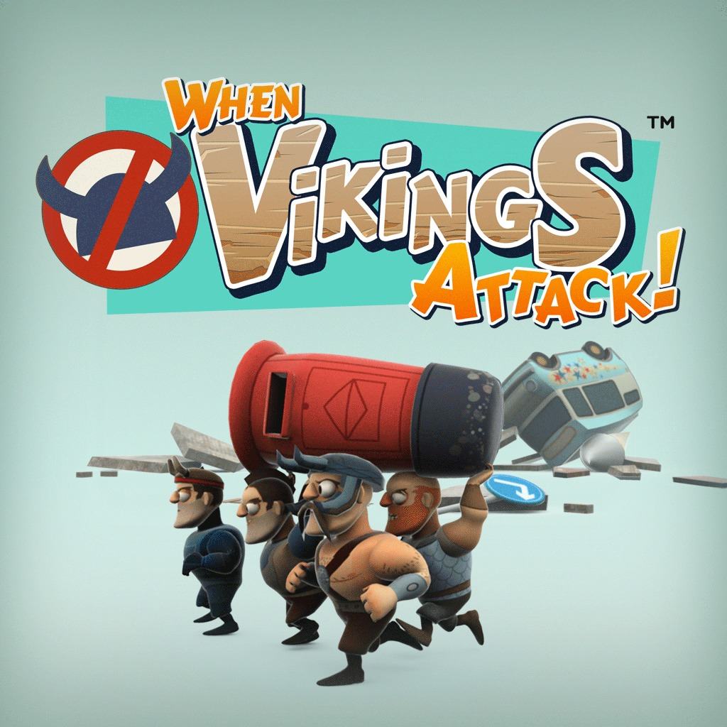 When Vikings Attack™ Dynamic Theme