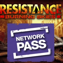 Resistance: Burning Skies™ Network Pass