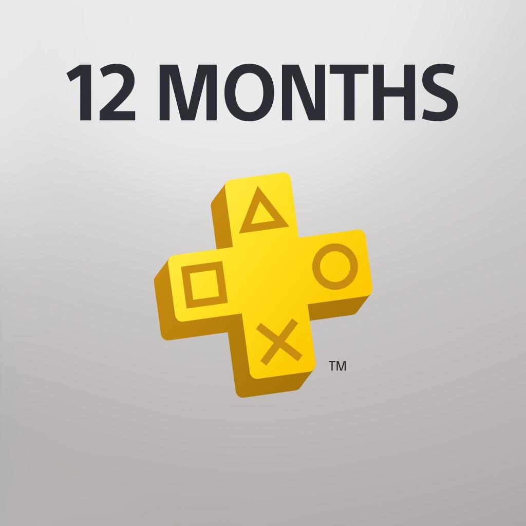 PlayStation® Plus: 12 Month Membership