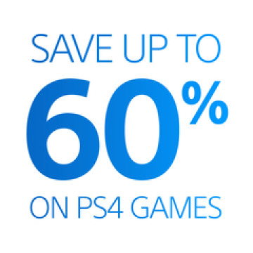 Save Up To 60% on PS4 Games
