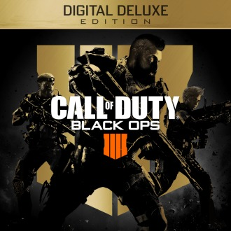 Call of Duty®: Black Ops 4 - Digital Deluxe Pre-Order PS4
