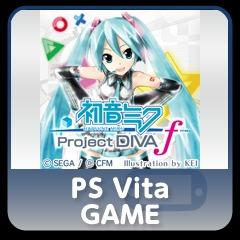Hatsune miku -Project DIVA- f full game PS Vita