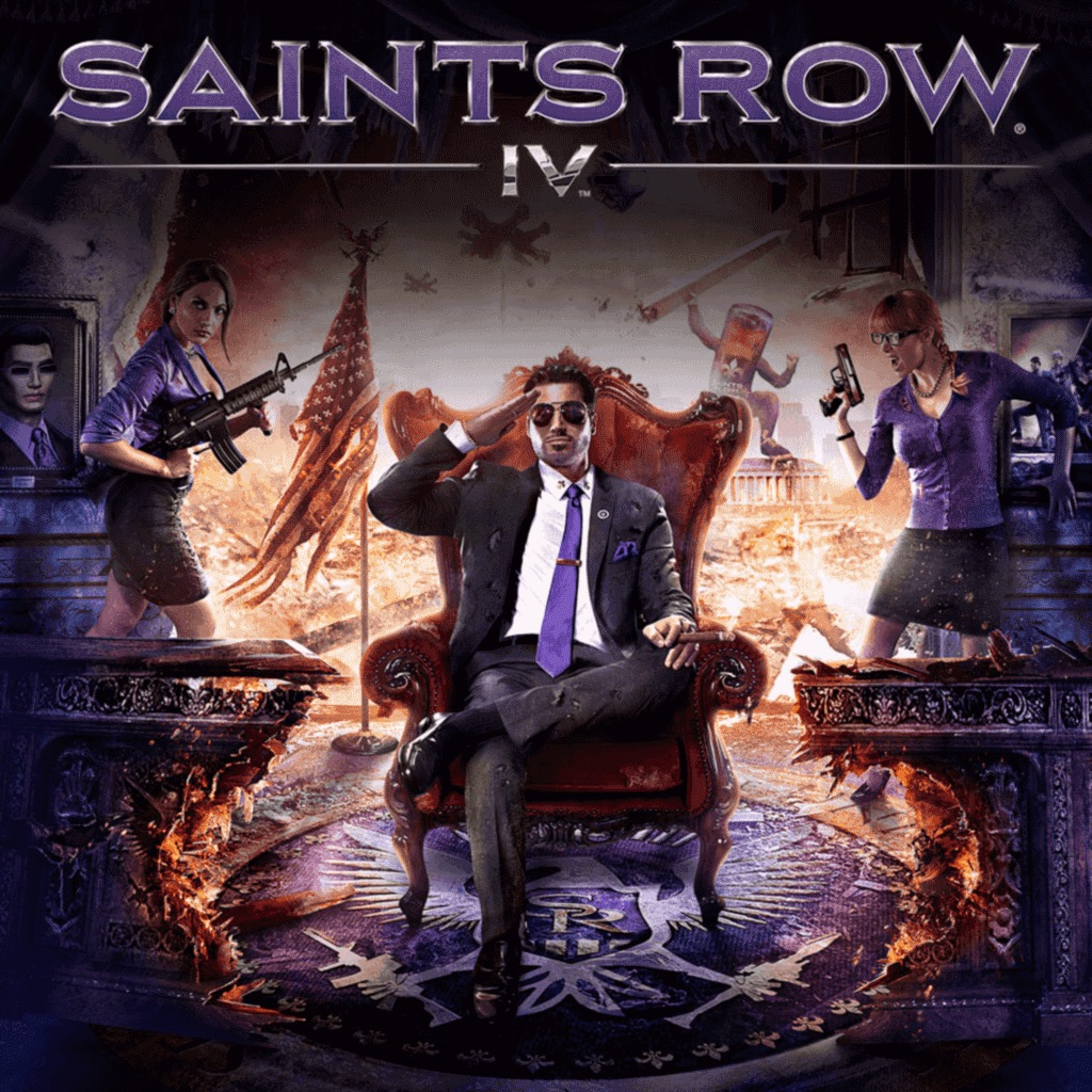 Saints Row IV full game (English Ver.)