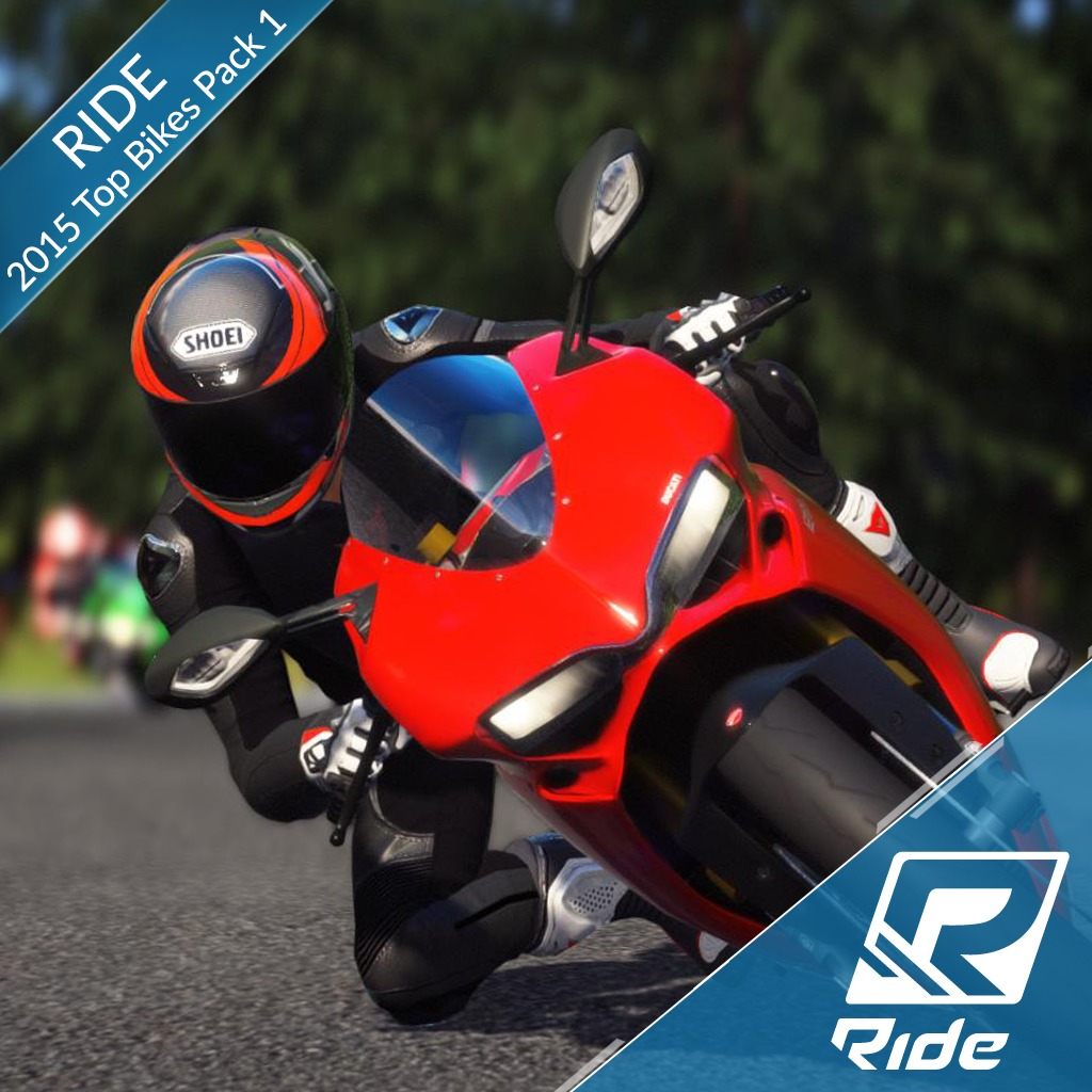 RIDE - 2015 Top Bikes Pack 1 (English Ver.)