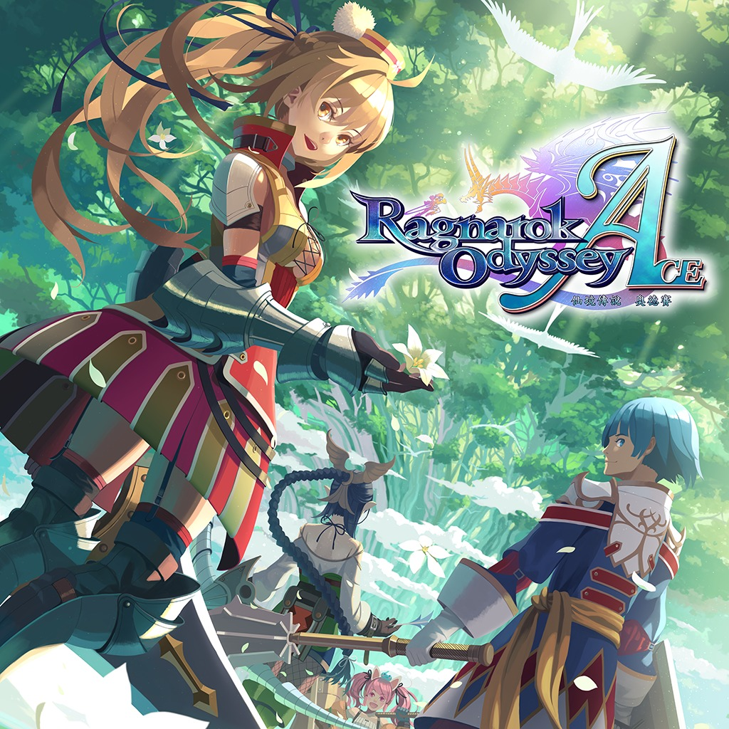 Ragnarok Odyssey ACE PlayStation®Vita the Best full game (English/Chinese/Korean Ver.)
