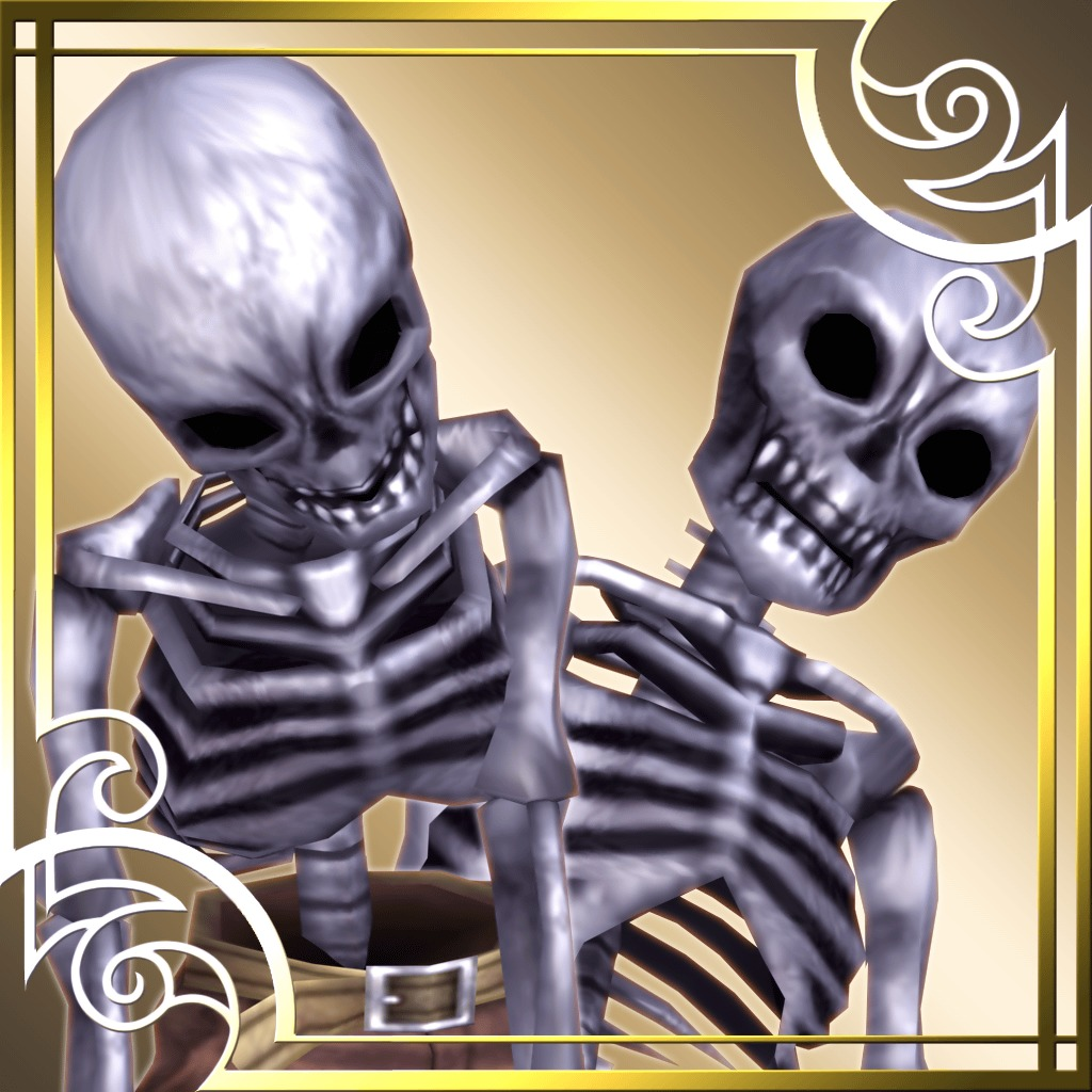 Ragnarok Odyssey ACE Souldier Skeleton Set (English/Chinese/Korean Ver.)