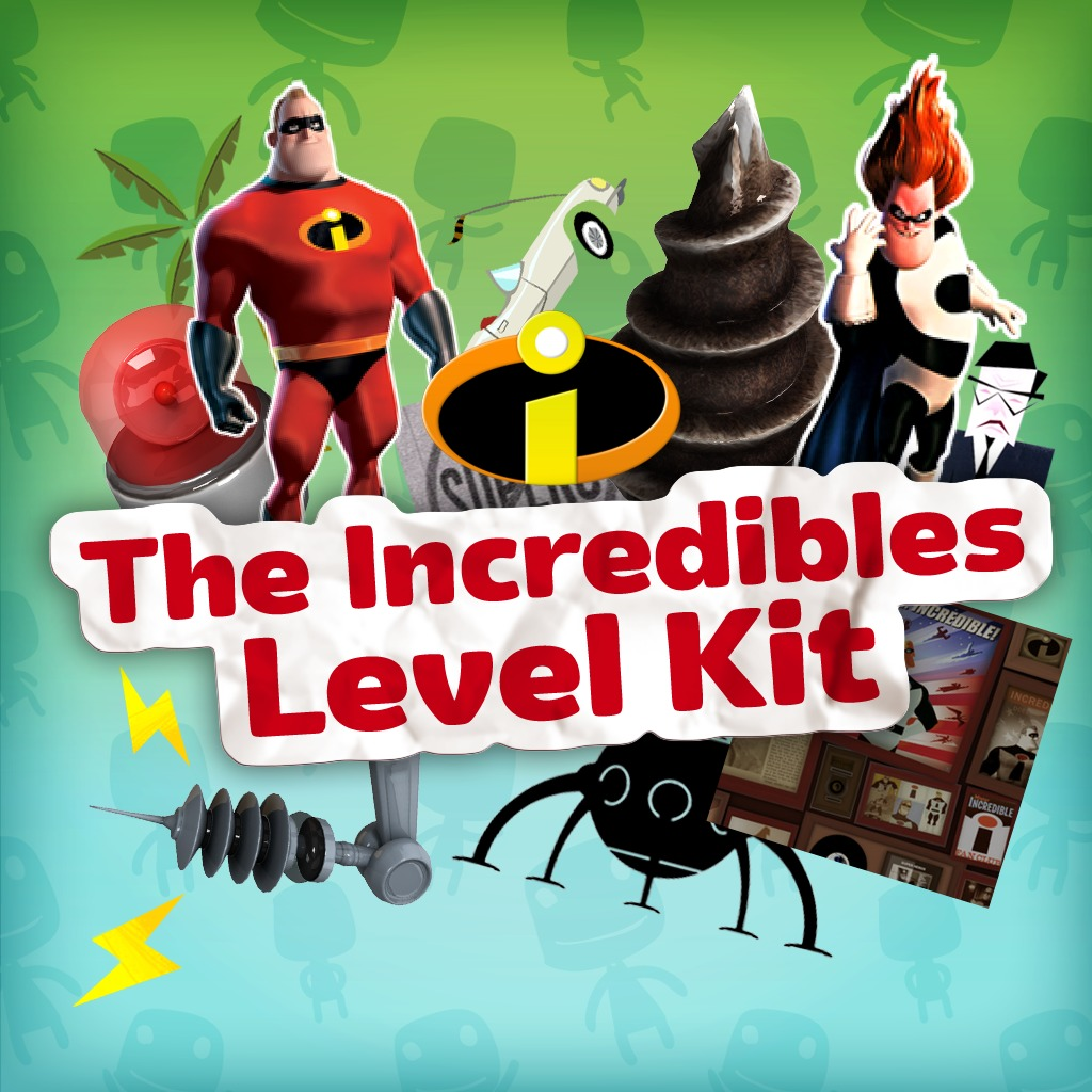 The Incredibles Kit (English/Chinese/Korean Ver.)