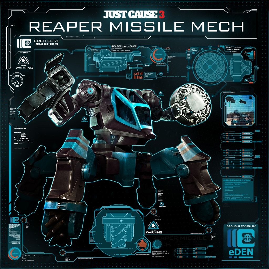 Reaper Missile Mech (English Ver.)