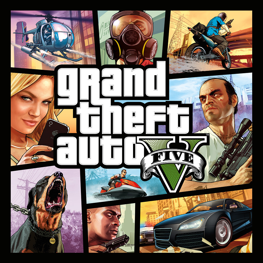 Grand Theft Auto V (English/Chinese/Korean Ver.)