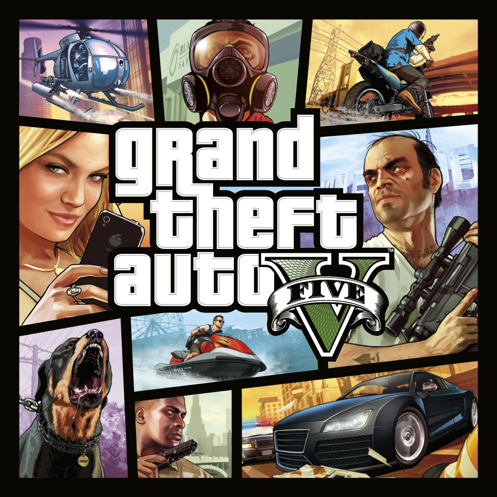 Grand Theft Auto V full game (English/Chinese/Korean Ver.)