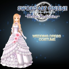 Sword Art Online: Hollow Realization Wedding Dress Costume