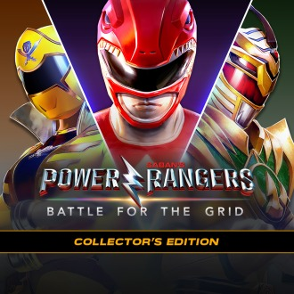Power Rangers Battle for the Grid: Collector's Edition PS4