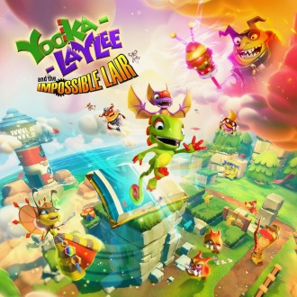 (Pre-Order) Yooka-Laylee and the Impossible Lair PS4