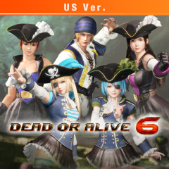 cbcc96f3a85cb DOA6 Pirates of the 7 Seas Costumes Vol.2 Set US version on PS4 ...
