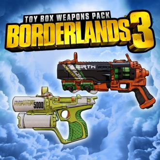 Borderlands 3 Toy Box Weapons Pack PS4