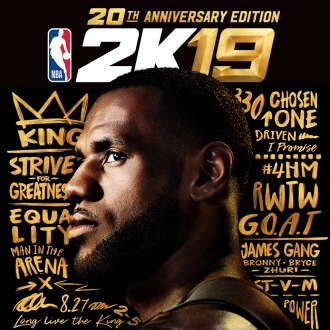 NBA 2K19 20th Anniversary Edition PS4