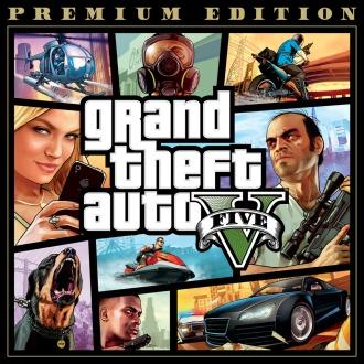 Grand Theft Auto V and Criminal Enterprise Starter Pack Bundle PS4