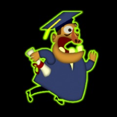 'Panicking Graduate' Avatar