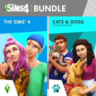 The Sims™ 4 Plus Cats & Dogs Bundle PS4