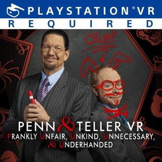 Penn & Teller VR: F U, U, U, & U PS4