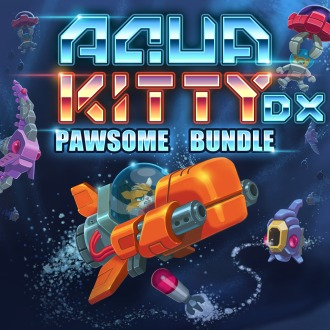 AQUA KITTY DX - PAWSOME BUNDLE PS4 / PS Vita