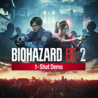 BIOHAZARD RE:2 1-Shot Demo PS4