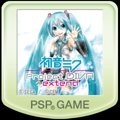初音ミク -Project DIVA- extend PS Vita / PSP