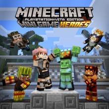 Minecraft ミニゲームヒーローズ スキンパック