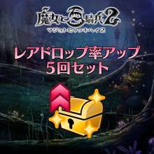 魔女の秘術【レアドロップ率アップ】 5回セット
