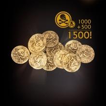アンチャーテッドポイント1,500(1,000+ボーナス500)
