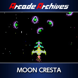 Arcade Archives MOON CRESTA PS4