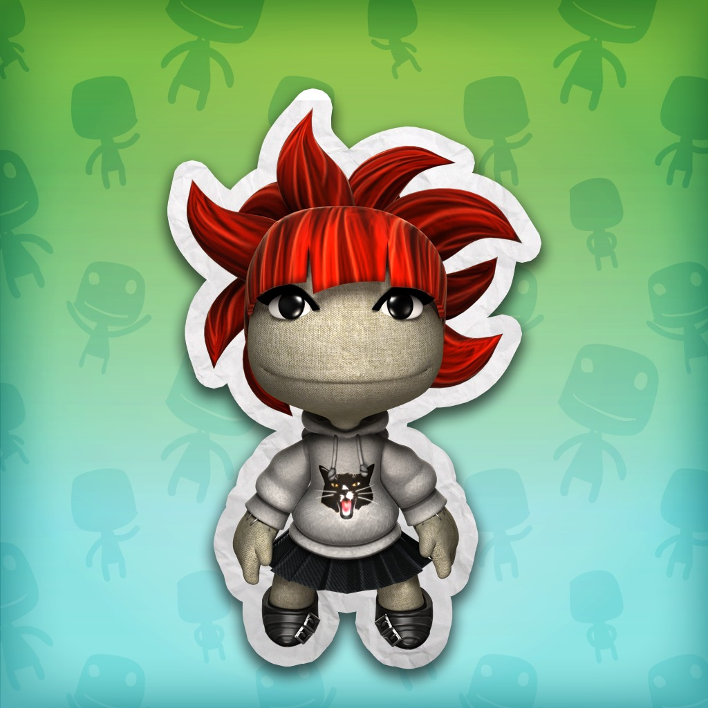 LBP™ 3 Red Cat Costume