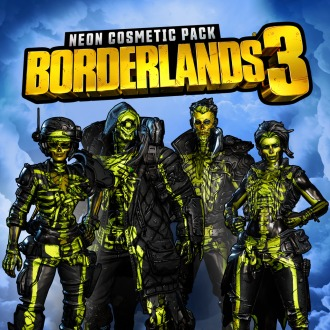Pack Neon Cosmetic de Borderlands 3 PS4