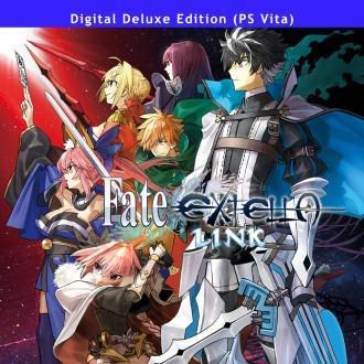 Fate/EXTELLA LINK — Digital Deluxe Edition PS Vita