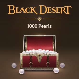 Black Desert - 1,000 Pearls PS4