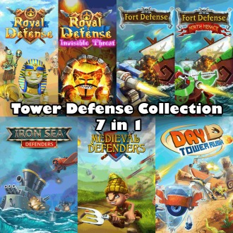 Tower Defense Collection 7 in 1 PS4