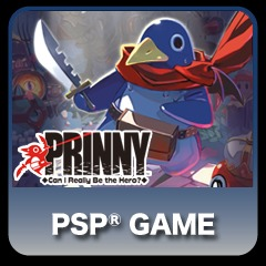 Prinny Can I Really be the Hero? full game PS Vita / PSP