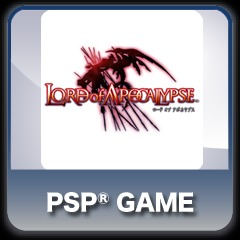 LORD of APOCALYPSE full game PS Vita / PSP