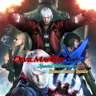 DMC4SE Demon Hunter Bundle PS4