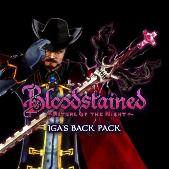 Bloodstained: Iga's Back Pack PS4