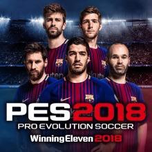 PES 2018(Winning Eleven 2018) Pre-Order(English/Chinese/Korean/Japanese Ver.)
