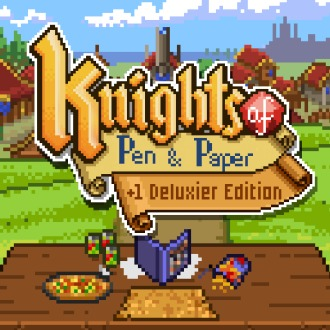 Knights of Pen and Paper +1 Deluxier Edition PS4