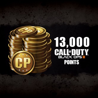 10,000 (+3,000 Bonus) Call of Duty Points PS4