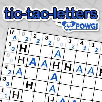 Tic-Tac-Letters by POWGI PS4 / PS Vita