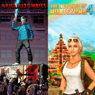 The Treasures of Montezuma 4 & KILLALLZOMBIES PS3